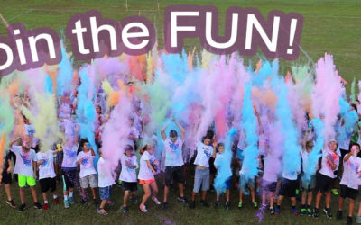 Register Now for the Healthy Life Color Run