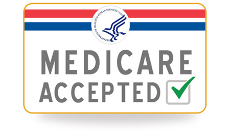 We Accept Medicare Card