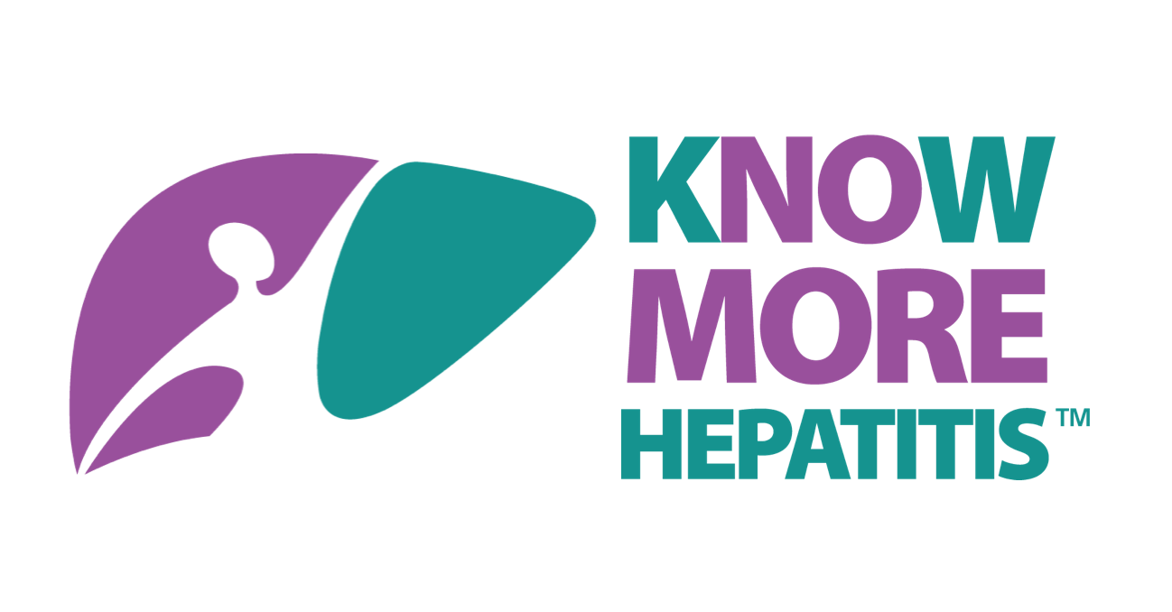 CDC logo for know more hepatitis campaign