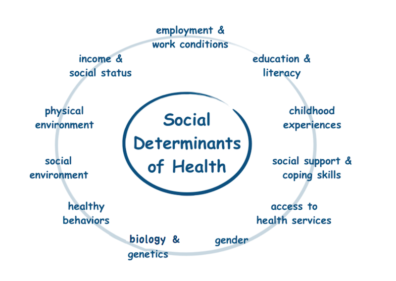 What Are Social Determinants Of Health Sunshine Community Health